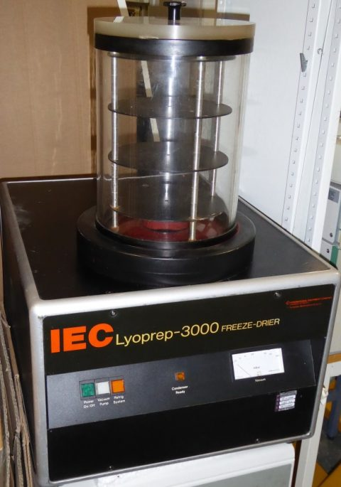 IEC Lyoprep-3000 Freeze-drier