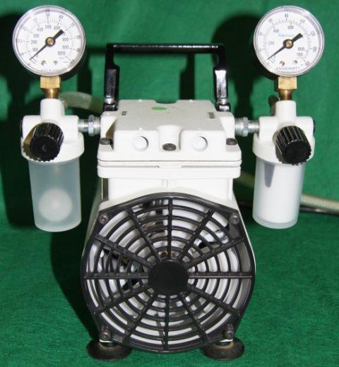 Thomas Embrane Vacuum Pump, Double