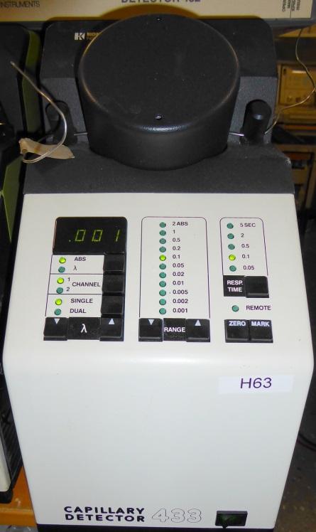 Kontron 433 Dual UV Capillary Detector