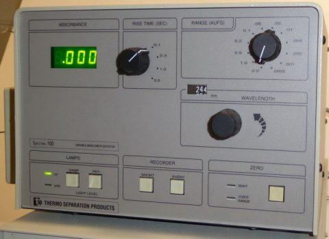 TSP Spectra 100 UV-VIS detector