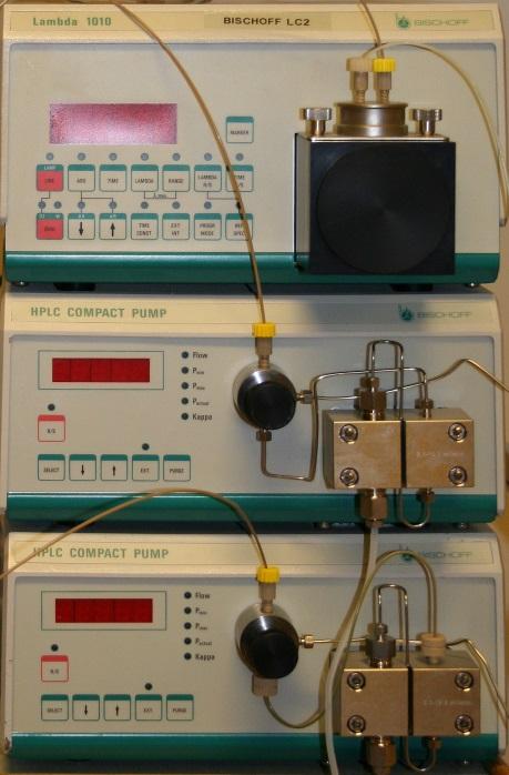 Bischoff Gradient HPLC System with UV Detector