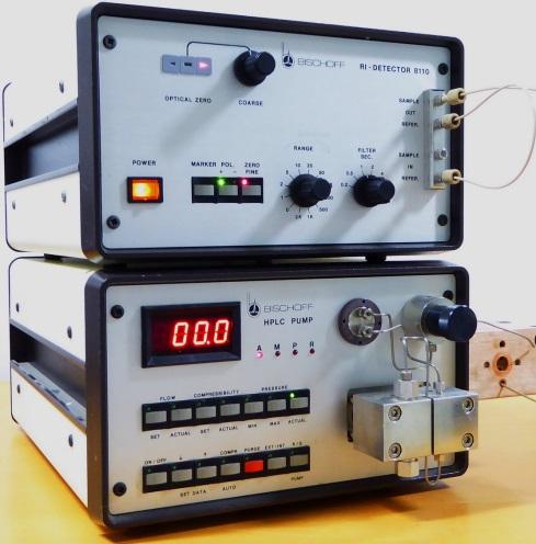Bischoff Refractive Index HPLC System Analog