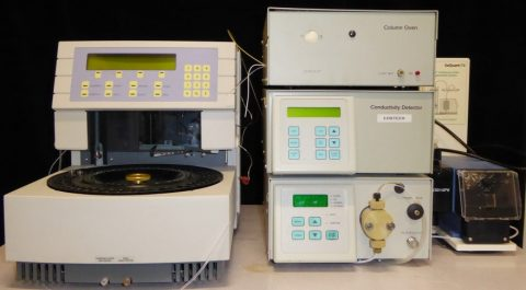 Costech ion chromatography system with Spark Midas autosampler.