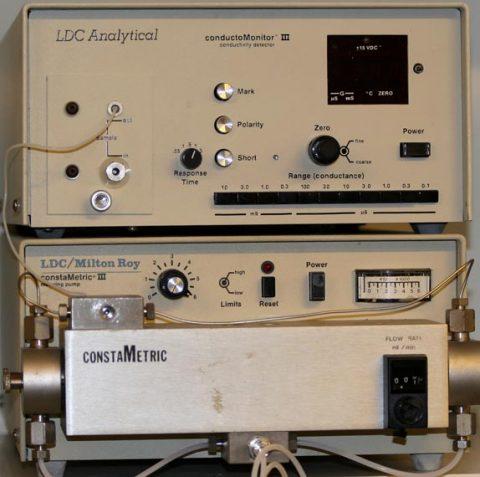 LDC-Milton Roy ion chromatograph