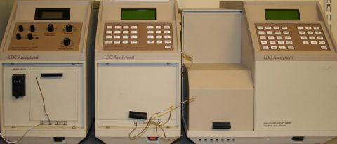 LDC SM 3200 manual, LDC SM 4100 programmable and LDC SM 5000 3-ch detector