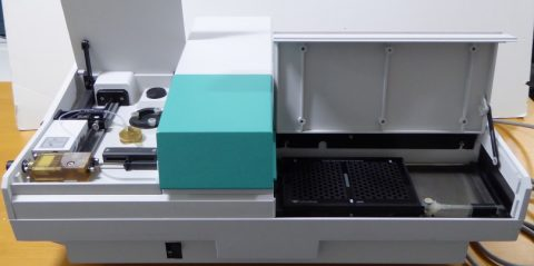 Labsystems Bioscreen C plate reader