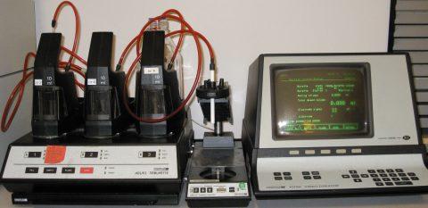 Radiometer VIT 90 titrator with ABU 93 burette station.