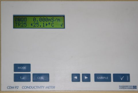 Radiometer CDM92 Conductivity Meter