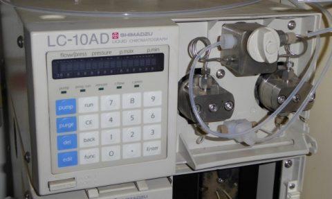Shimadzu LC-10AD HPLC pump
