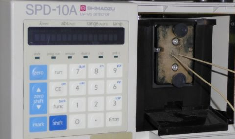 Shimadzu SPD-10A UV Detector with Micro Flowcell