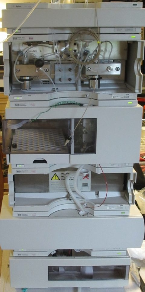 Agilent 1100 Automated Gradient system