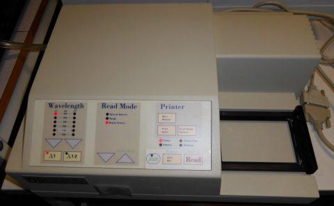 Biolog plate scanner