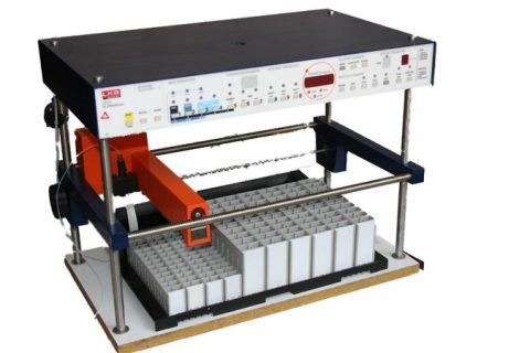 LKB Superrac, high capacity fraction collector with racks for different size testtubes.