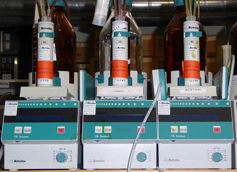 Metrohm Dosimat 776 dispensing units