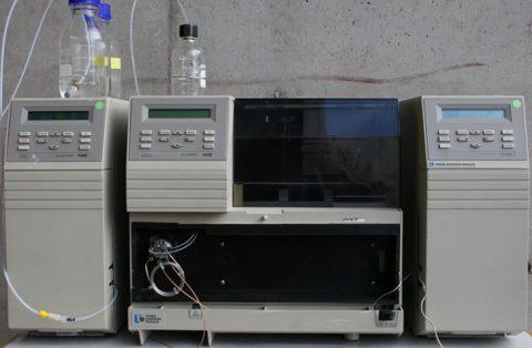 TSP 4000 gradient pump,TSP 2000 UV-VIS detector, AS300 autosampler